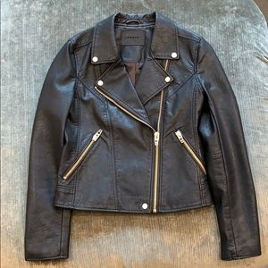 BLANK NYC FAUX LEATHER JACKET SIZE SMALL